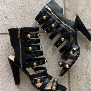 Colin Stuart gladiator heeled sandals